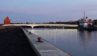 Möljä Bridge bridge in Oulu, Finland