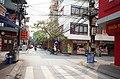 Một góc phố Phạm Hồng Thái, nhìn ra ngã tư phố Phạm Hồng Thái giao với phố Tô Hiệu, thành phố Hải Dương, tỉnh Hải Dương.jpg