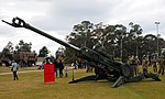M777A2 howitzer at the 2018 ADFA Open Day.jpg