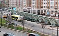 MBTA buses at Kenmore, April 2016.JPG