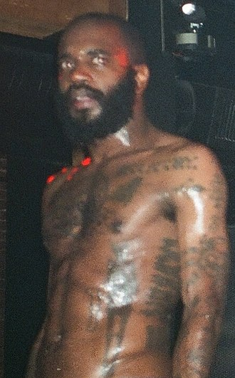 MC Ride - MC Ride performing with Death Grips in 2012.