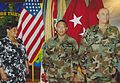 MG Raymond Odierno and BG Albert Bryant Jr at 4th Infantry Division Ceremony with Renee Bryant.jpg