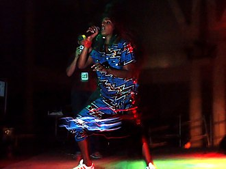 M.I.A. (rapper) - M.I.A. performing at Sónar on her Arular Tour