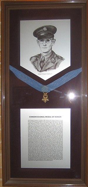 George D. Keathley - Image: MOH George D. Keathley
