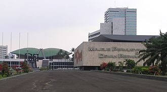 People's Consultative Assembly - The building complex in Jakarta that includes the offices and meeting chamber of Indonesia's People's Consultative Assembly