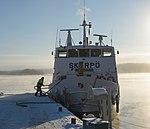 MS Skarpö at Årsta brygga January 2013.jpg