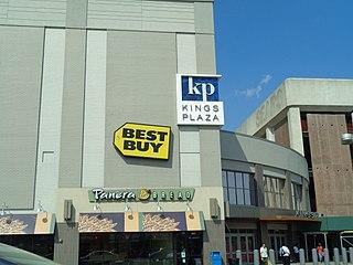 Kings Plaza shopping mall in Brooklyn, New York