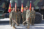 MWCS-28 Marines earn Leonidas Award, page in squadron history 150305-M-SR938-030.jpg