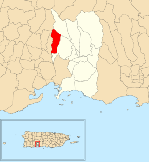 Macaná, Peñuelas, Puerto Rico Barrio of Puerto Rico