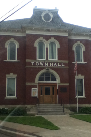 Machias, New York - Image: Machias Town Hall