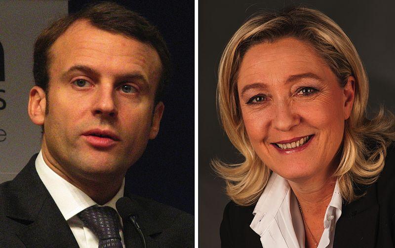 File:Macron & Le Pen.jpg