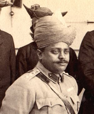 Scindia School - Founder, Madho Rao Scindia, maharaja of Gwalior State, r. 1886-1925