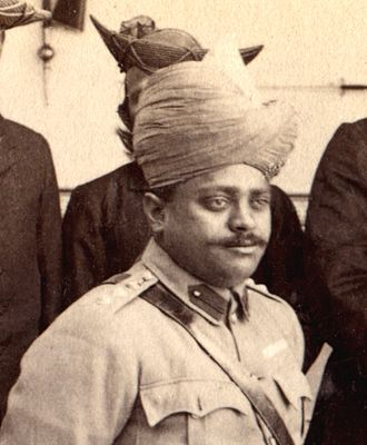 Madho Rao Scindia - Madho Rao Scindia in about 1903.
