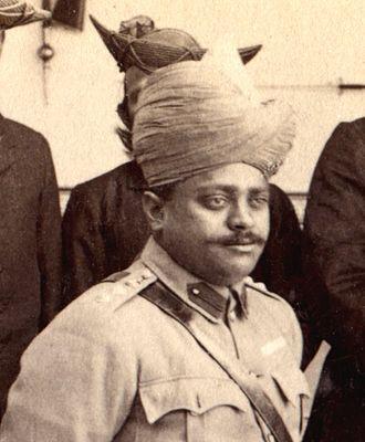 Scindia School - Founder, Madho Rao Scindia, maharaja of Gwalior State, r. 1886-1925