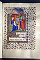 Maestro di sir john fastolf, libro d'ore, gennaio (epifania), rouen 1425-1450 ca. 02.JPG