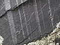 Magnetite banded iron formation (Soudan Iron-Formation, Neoarchean, ~2.69 Ga; Rt. 169 roadcut between Soudan & Robinson, Minnesota, USA) 10 (18420180123).jpg