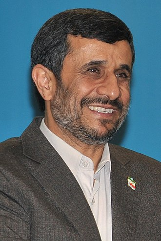 Iranian presidential election, 2009 - Image: Mahmoud Ahmadinejad Cropped