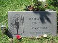 Maila Nurmi - Vampira Gravestone, Hollywood Forever Cemetery (7785950400).jpg