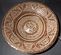 Maiolica ispano-moresca, piatto a lustro, catalogna 1450-75 ca.jpg