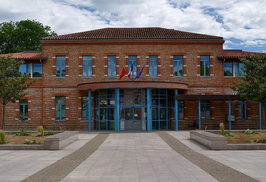 Town hall of Castanet-Tolosan (Midi-Pyrénée, France)