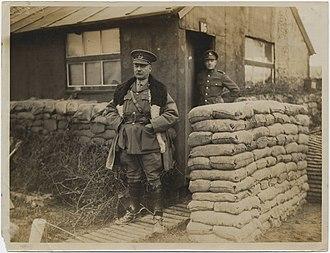 Edward Whipple Bancroft Morrison - Image: Major General E.W.B. Morrison, G.O.C.R.A., Canadian Corps (19866570536)