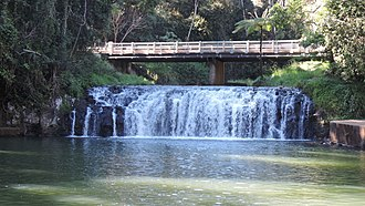 Malanda Falls Swimming Pool - Malanda Falls, 2016