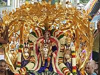 Malayappa in kalpavriksham vahanam
