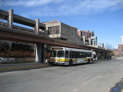 Cómo llegar a Malden Center en transporte público - Sobre el lugar