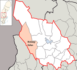 salen sverige kart Malung Sälen Municipality   Wikipedia salen sverige kart