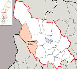 kart malung sverige Malung Sälen Municipality   Wikipedia kart malung sverige