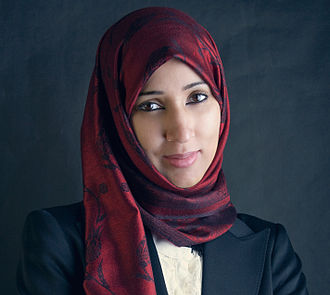 Women's rights in Saudi Arabia - Manal al-Sharif, a women's rights activist from Saudi Arabia who helped start a women's right to drive campaign in 2011