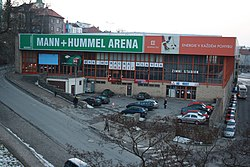 Mann+Hummel Arena ice hockey venue in Třebíč, Třebíč District.jpg