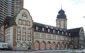 """Konstantinos Fostiropoulos - """"Alte Feuerwache"""" -  Landmark of Mannheim-Neckarstadt"""
