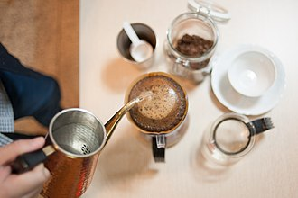 Brewed coffee - Manual drip (pour-over) coffee