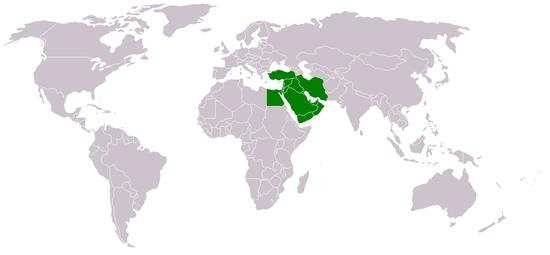 Carte Du Monde Orient.Proche Et Moyen Orient Introduction Wikiversite