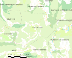 Map commune FR insee code 11152.png