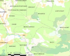 Map commune FR insee code 31067.png