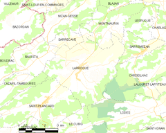 Map commune FR insee code 31276.png