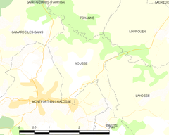Map commune FR insee code 40205.png