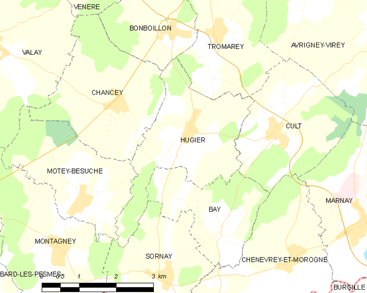 Archivo:Map commune FR insee code 70286.png