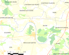 Map commune FR insee code 72021.png