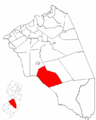 Map of Burlington County highlighting Shamong Township.png