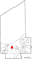 Map of Cuyahoga County Ohio Highlighting Brooklyn City.png