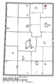 Map of Darke County Ohio Highlighting Osgood Village.png