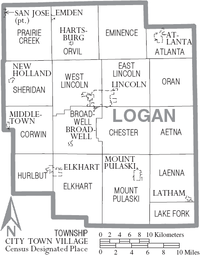 Map of Logan County Illinois With Municipal and Township Labels.PNG