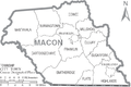 Map of Macon County North Carolina With Municipal and Township Labels.PNG