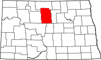 Map of North Dakota highlighting McHenry County.svg