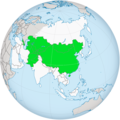 Map of the Central Asia Regional Economic Cooperation Program.png