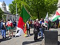 March for Welsh Independence arranged by AUOB Cymru First national march; Wales, Europe 09.jpg