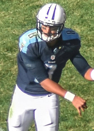 Marcus Mariota - Mariota with the Tennessee Titans in 2015